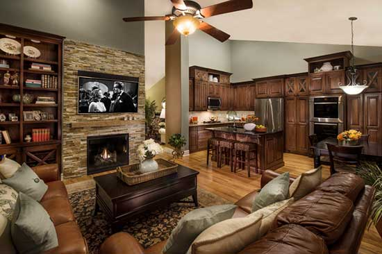 Remodeled Kitchen and Living Room